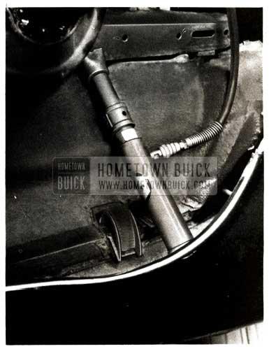 1951 Buick Front Fender Repair