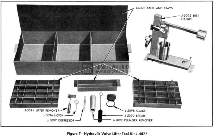 1951 Buick Hydraulic Valve Lifter Tool Kit J-4877