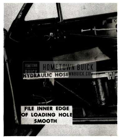 1951 Buick Hydro-Lectric Hydraulic Hose Damage