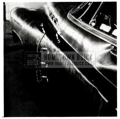 1951 Buick Reshaping Fender