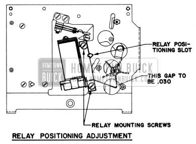 1951 Buick Selectronic Radio Relay Adjustment