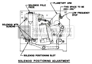1951 Buick Selectronic Radio Selenoid Pole Piece Adjustment