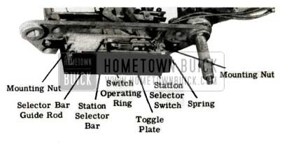 1951 Buick Selectronic Radio Station Selector Switch Replacement