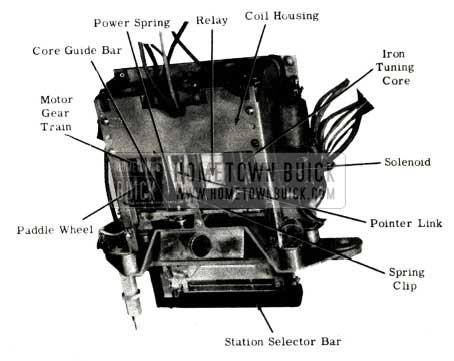 1951 Buick Selectronic Radio Tuner Sweep Cycle Outline