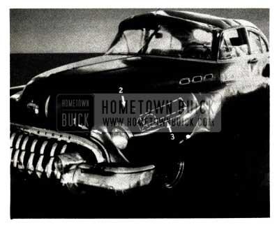 1951 Buick Sheet Metal Accident Repairs
