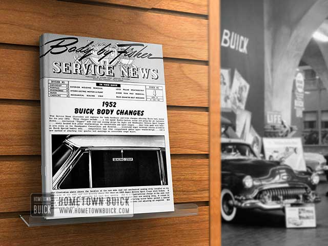 1952 Buick Body Changes