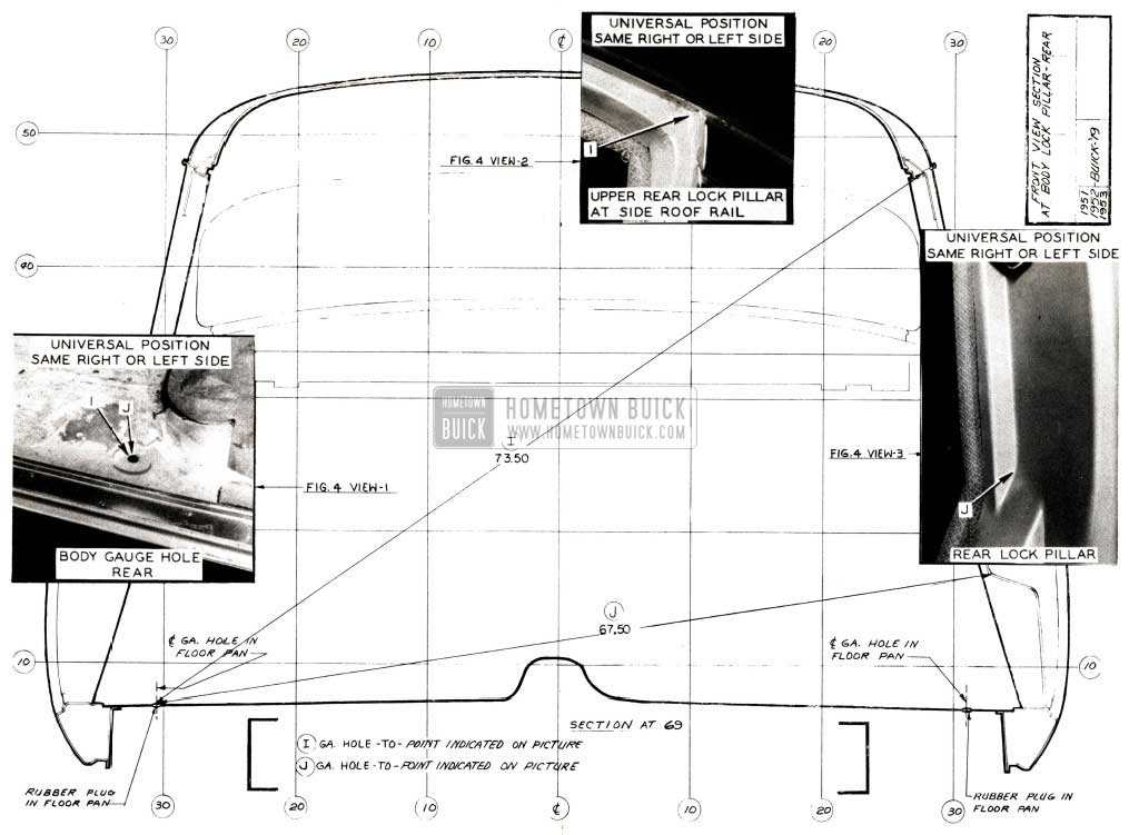 1952 Buick Body Dimensions