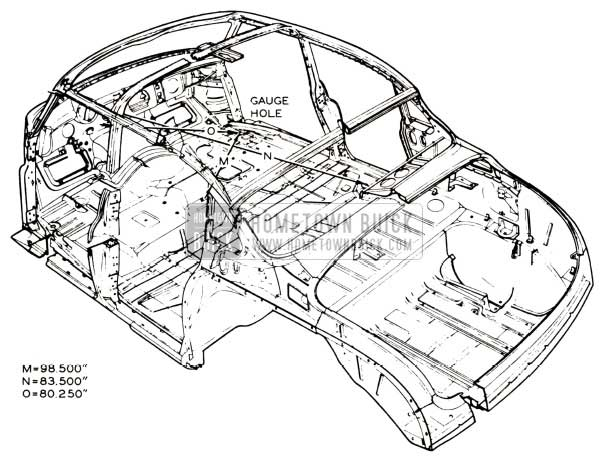 1952 buick body maintenance hometown buick Brake Plumbing Diagram 1952 buick body rear view