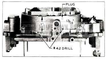 1952 Buick Carter Carburetor Venting Operations