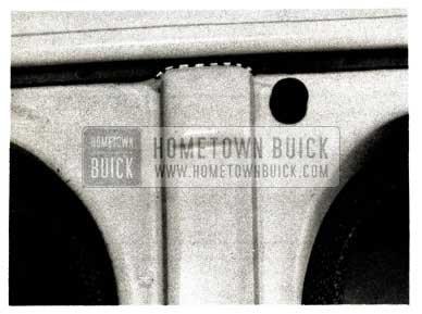 1952 Buick Center Pillar
