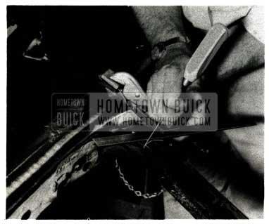 1952 Buick Damaged Window Frame