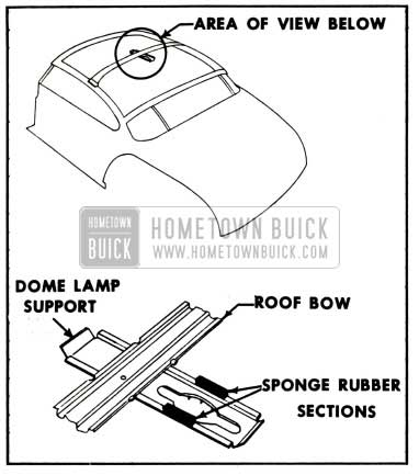1952 Buick Dome Lamp Intallation