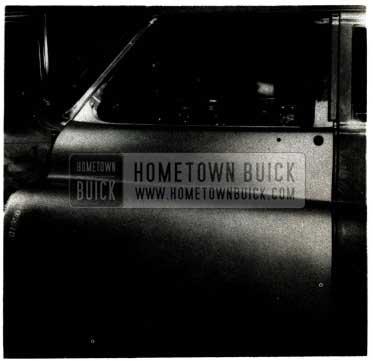 1952 Buick Door Refinishing