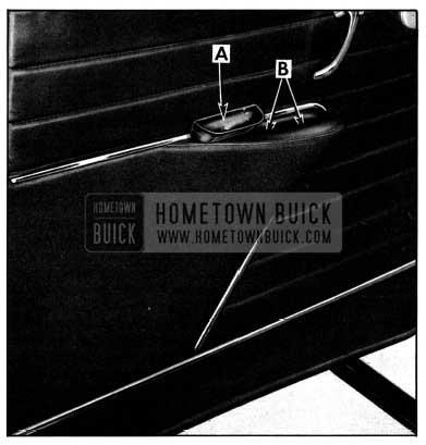 1952 Buick Door Trim Pad