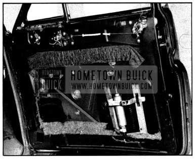 1952 Buick Front Door Side Molding