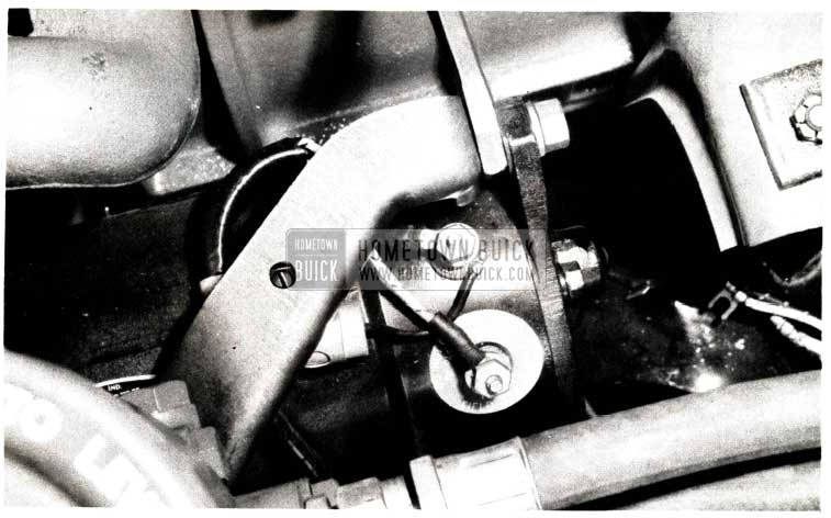 1952 Buick Generator Shorting Correction
