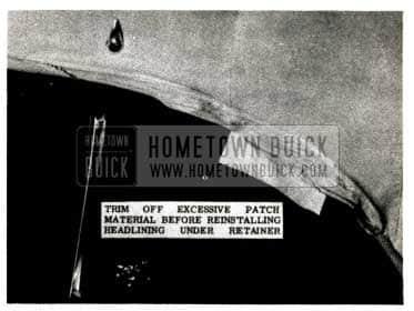 1952 Buick Headlining Trim Strips
