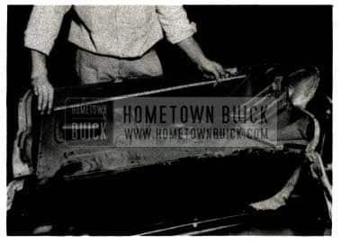 1952 Buick Hinge Reinforcement