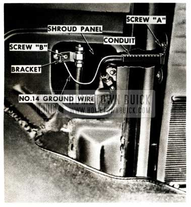 1952 Buick Hydro-Lectric Door Ground