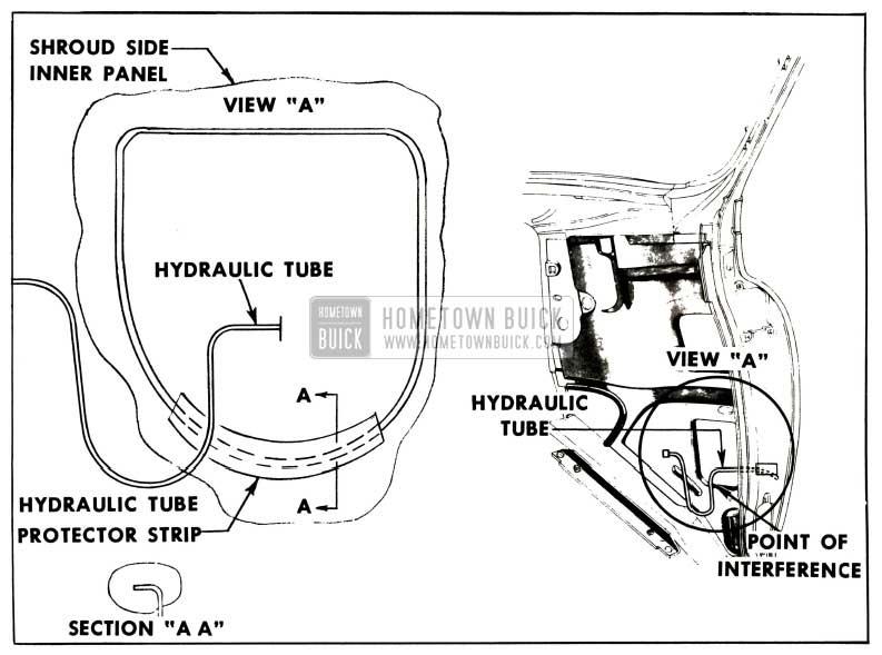 1952 Buick Hydro-Lectric Hydraulic Fluid Leak Locating