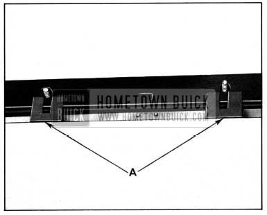 1952 Buick Mechanical Side Roof Rail Sealing Strip
