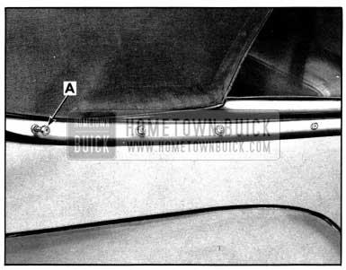 1952 Buick Rear Quarter Belt Molding