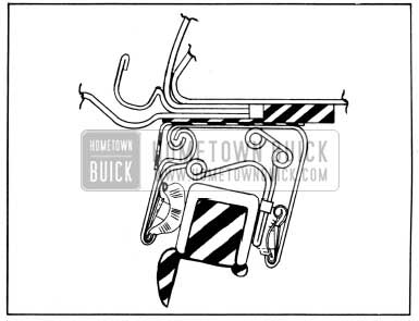 1952 Buick Sealing Strip