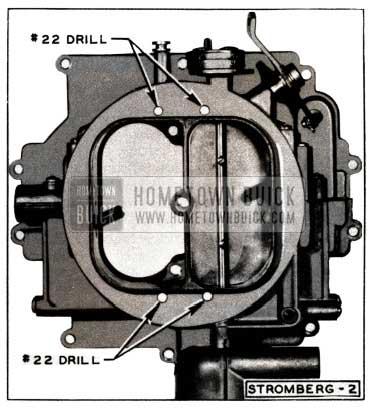 1952 Buick Stromberg Carburetor Air Horn