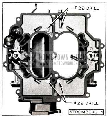 1952 Buick Stromberg Carburetor Bottom Side
