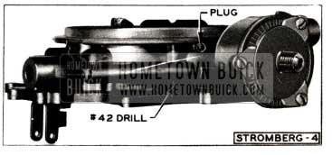 1952 Buick Stromberg Carburetor Plug