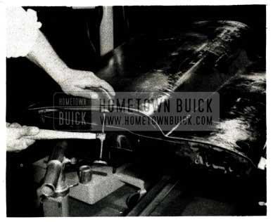 1952 Buick Turn Flange under Door