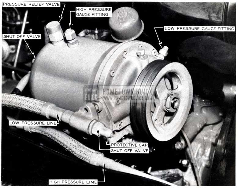 1953 Buick Air Conditioner Compressor