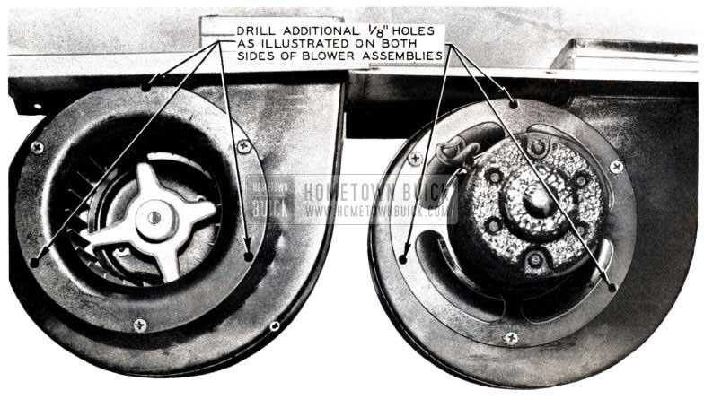 1953 Buick Air Conditioning Blowers
