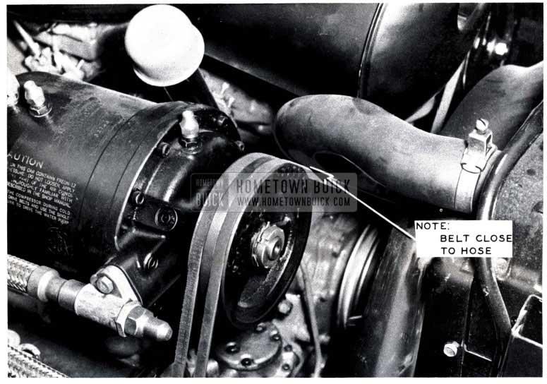 1953 Buick Air Conditioning Compressor Belt