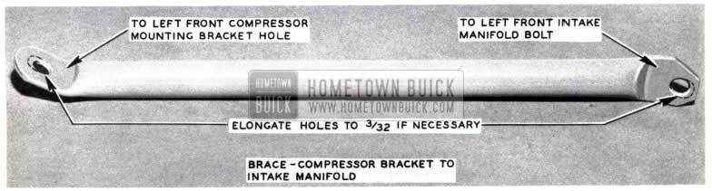 1953 Buick Air Conditioning Compressor Bracket