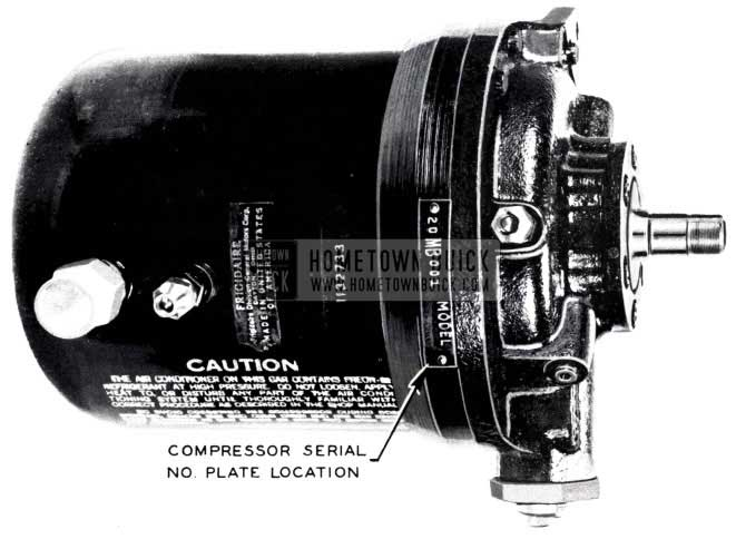 1953 Buick Air Conditioning Compressor