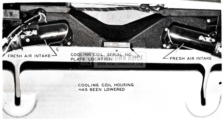 1953 Buick Air Conditioning Cooling Coil Housing