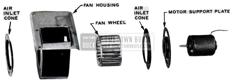1953 Buick Air Conditioning Fan House