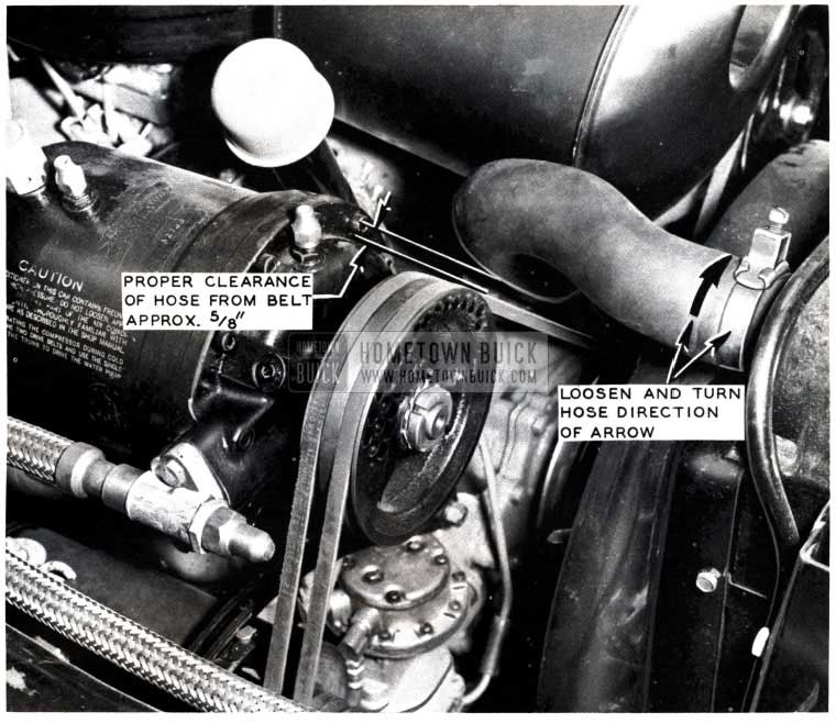 1953 Buick Air Conditioning Hose