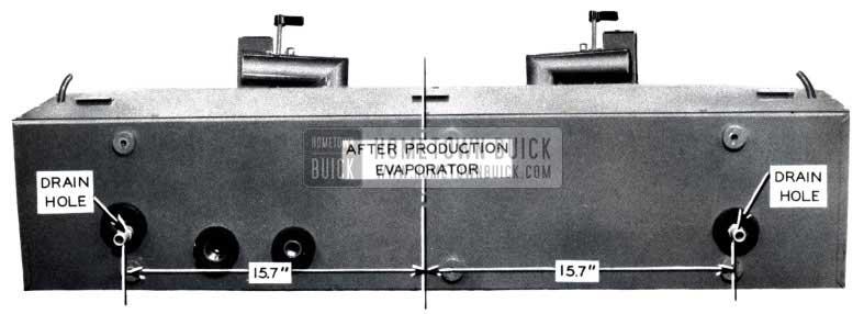1953 Buick Air Conditioning New Evaporator