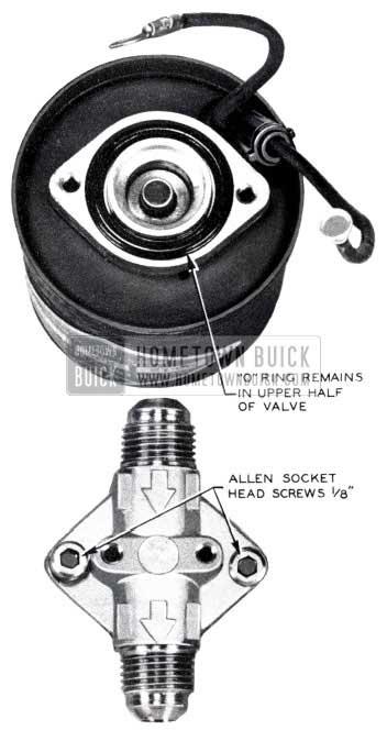 1953 Buick Allen Socket Head Screws