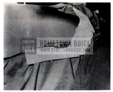 1953 Buick Attach Rear Quarter Window Outer Draft Strip