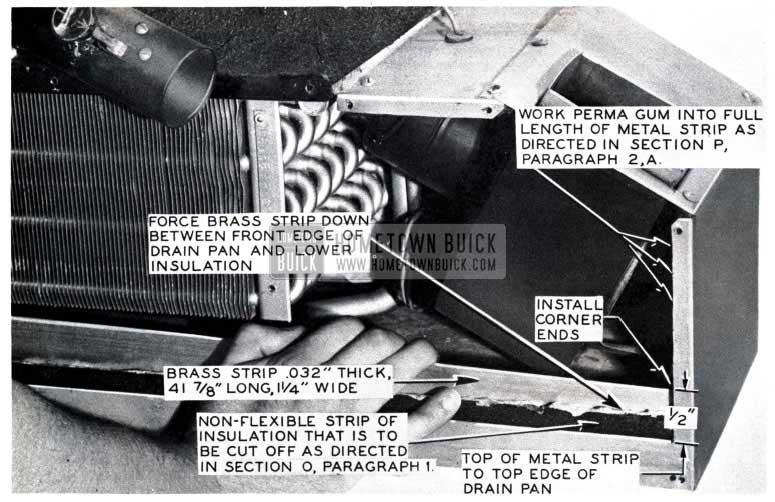 1953 Buick Back Corner of Drain Pan