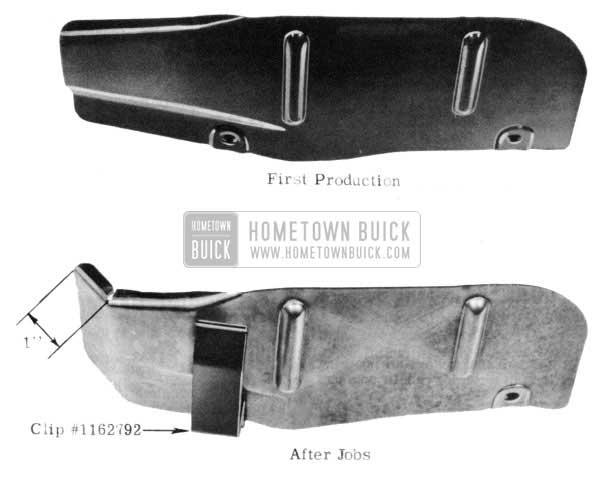 1953 Buick Battery Shield