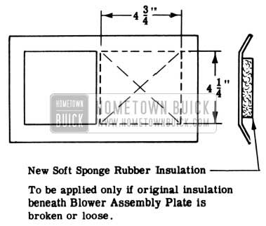 1953 Buick Blower Assembly Plate