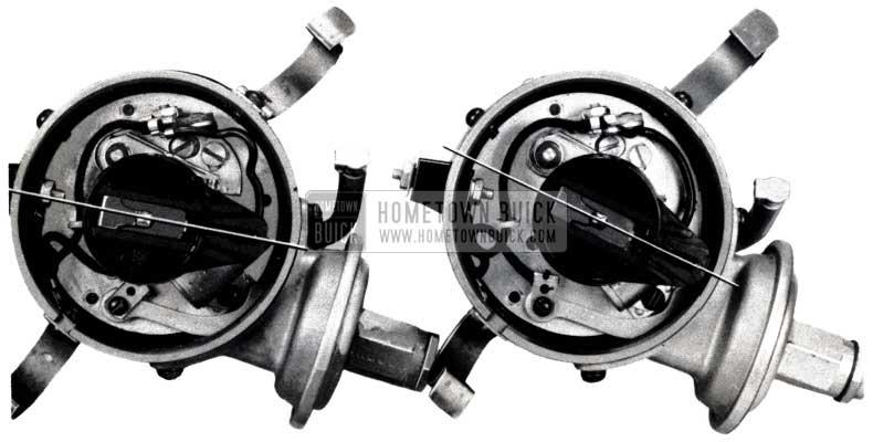 1953 Buick Burned Distributor Rotor Tips