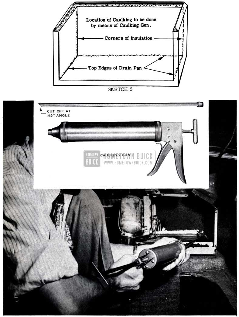 1953 Buick Caulking Gun