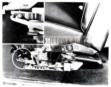 1953 Buick Check Operation of Inertia Lock