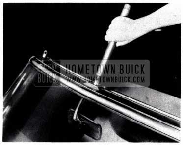 1953 Buick Convertible Center Locking Stud