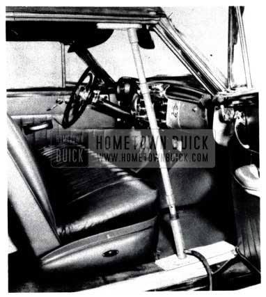 1953 Buick Convertible Roof Rail Rework